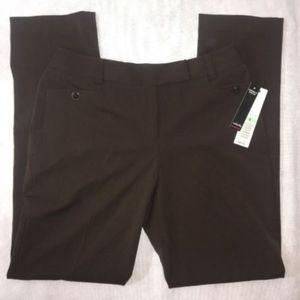 NWT Rafaella Brown Dress Pants Sz 8